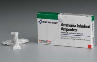 ammonia smelling salts
